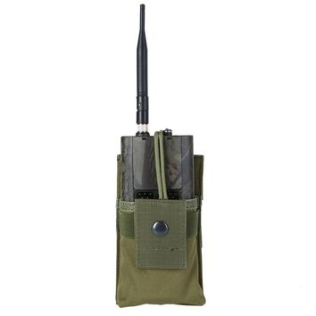 Tactical Radio Case Holder Holster Walkie Talkie Holster Adjustable Molle Pouch Open Top Magazine M4 Mag Tactical Pouch