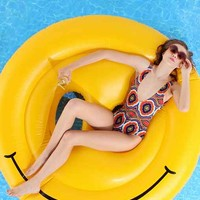 Smiley Face Pool Float