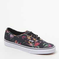 Vans Authentic Black Boom Shoes - Mens Shoes - Black