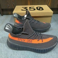 """""""Adidas Yeezy 350 Boost"""" Unisex Casual Fashion Multicolor Running Shoes Couple Sneakers"""
