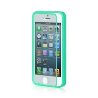 Dream Wireless Wrap-Up Case with Screen Protector for iPhone 5/5S - Retail Packaging - Teal