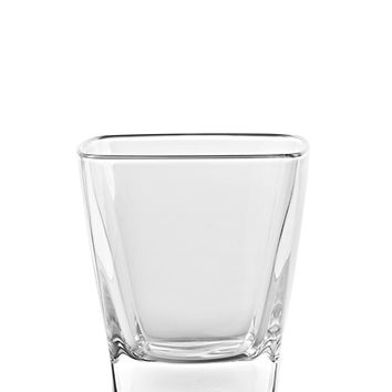 Majestic Gifts E65283-S6 Quality Glass Double Old Fashioned Square Tumbler 10 oz. Set of 6