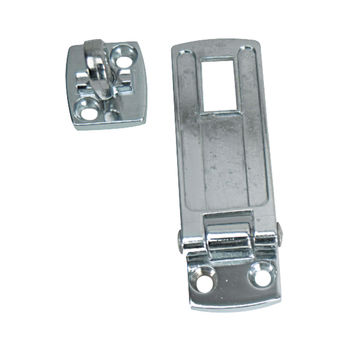 "Whitecap Swivel Safety Hasp CP/Zamac 1-1/8"" x 3"" S1400C S-1400C 725060000000"