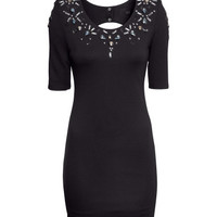 Rhinestone Dress - from H&M