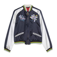 HILFIGER COLLECTION Bomber Mustique Souvenir Embroidered bomber jacket - Jackets & Coats