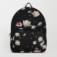 MAGNOLIA BRANCH Backpack by lostanaw