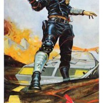 "Mad Max Poster Movie Poster Insert 14""X36"""