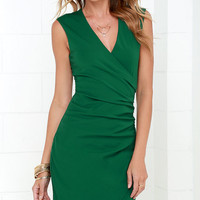 Splendid Story Green Dress