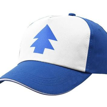 Adult baseball Hat Caps Cotton Gravity Falls U.S Cartoon Animation Mabel Dipper Fans polo suede hats