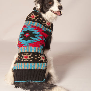 Chilly Dog Navajo Style Dog Sweater
