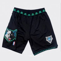 Mitchell & Ness 2003-04 Minnesota Timberwolves Alternate Authentic Shorts