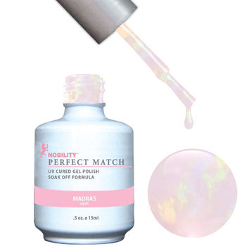 LeChat Perfect Match Gel / Lacquer Combo - Madras 0.5 oz - #PMS34
