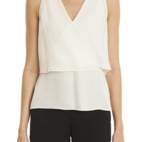 Boutique 1 - THEORY - Ivory Alizay Top | Boutique1.com