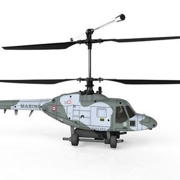 Hubsan H201D Lynx Co-Axial 4CH Helicopter RTF 2.4Ghz FPV w/LCD Color Monitor