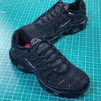 Nike Lab Air Max Plus Triple Black Sport Shoes - Best Online Sale