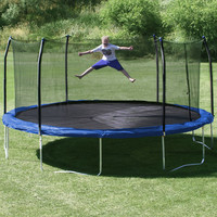Skywalker 17' x 15' Oval Trampoline with Safety Enclosure