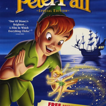 Peter Pan Special Edition (2002) Movie Poster 27x40 MCP0007 Used Walt Disney