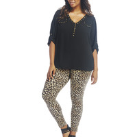 Leopard Print Leggings | Wet Seal+