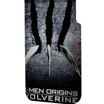 Best 3D Full Wrap Phone Case - Hard (PC) Cover with X Men Origins Wolverine Scratch Design