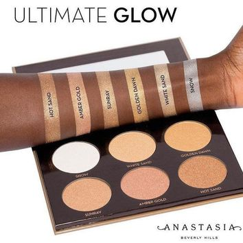 DCCKJN3 Anastasia Ultimate Glow Contour 6-color Eye Shadow [10968518860]