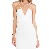 AQ/AQ Yarra Mini Dress in White