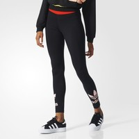 adidas Trefoil Leggings - Black | adidas UK