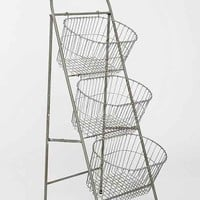 Ladder Storage Basket-