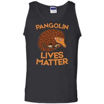 Pangolin T-Shirt: Pangolins Lives Matter Save The Pangolins Tank Top