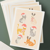 Pets Christmas Card Set