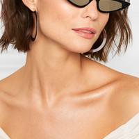 Andy Wolf - Florence cat-eye acetate mirrored sunglasses