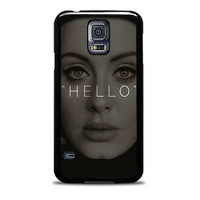 Hello Adele Potrait Face Actress Samsung Galaxy S5 Case