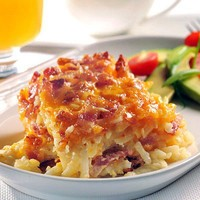 Yummy / Potato bacon breakfast casserole