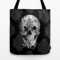 Not here nor there Tote Bag by Kristy Patterson Design