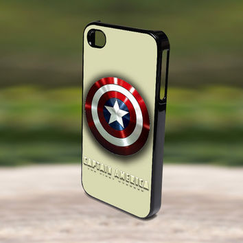 Accessories Print Hard Case for iPhone 4/4s, 5, 5s, 5c, Samsung S3, and S4 - Captain America Winter Soldier Shield