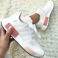 "One-nice simpleclothesv : ""Adidas"" NMD Fashion Sneakers Trending Running Sports Shoes"