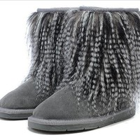 DHL Women's UGG snow boots warm cotton shoes _1686248855-136