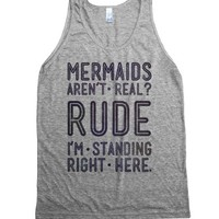 Athletic Grey Tank | Funny Fantasy Shirts