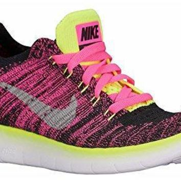Nike Kid's Free RN Flyknit GS Running Shoes nikes running shoes for women