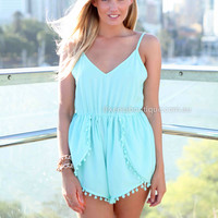 NEVER LET YOU DOWN PLAYSUIT , DRESSES, TOPS, BOTTOMS, JACKETS & JUMPERS, ACCESSORIES, SALE, PRE ORDER, NEW ARRIVALS, PLAYSUIT, COLOUR, GIFT VOUCHER,,Blue,JUMPSUIT,SLEEVELESS Australia, Queensland, Brisbane
