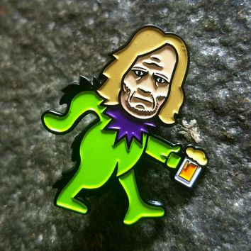 Shameless Frank Gallagher Dancing Bears Mashup Hatpin
