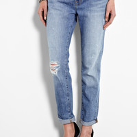 Aioki Distressed Cropped Boyfriend Jeans by J Brand Denim