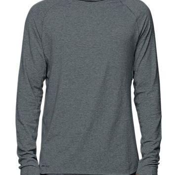 Nike SB Skyline Long Sleeve Scuba Shirt - Mens Tee - Gray