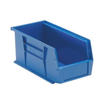 Quantum Storage Systems Ultra Stack And Hang Bin 10-7/8Lx 5-1/2Wx 5H - Blue Pack Of 12