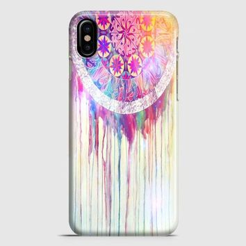 Bmth Sempiternal In Rainbow Watercolor Drop iPhone X Case | casescraft