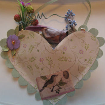 Heart Home Decoration, Victorian Wall Decor