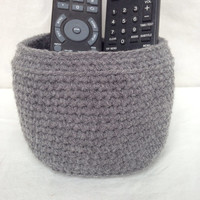 Small Crochet Decorative Basket - 24 colors