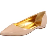 Ted Baker Women`s Nilia Flat,Nude Leather,8 M US