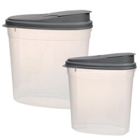 Bulk Sure Fresh Professional Oval Dry-Food Containers with Lids at DollarTree.com