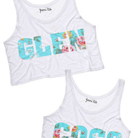 Glen Coco Best Friends Crop Tank Tops