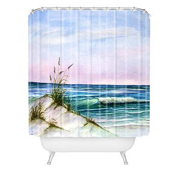 Rosie Brown Okaloosa Beach Shower Curtain